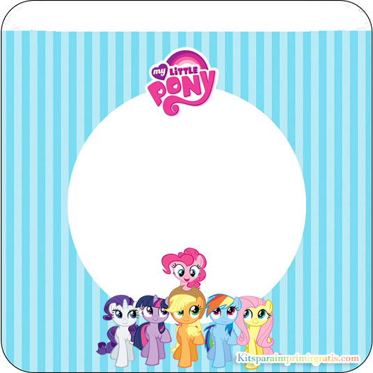 Banderines de My Little Pony para descargar gratis