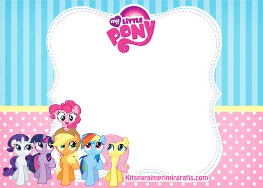 Kit de My Little Pony para descargar gratis | Kits para ...