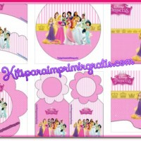 Kit imprimible de Princesas Disney para descargar gratis