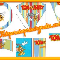 Kit imprimible de Tom & Jerry para descargar gratis