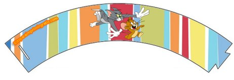 Wrappers de Tom y Jerry para imprimir gratis - Fiesta tom y jerry