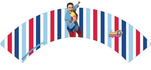 Wrappers muffins topa - Toppers Topa Disney Junior - Imprimibles fiesta de Topa Disney