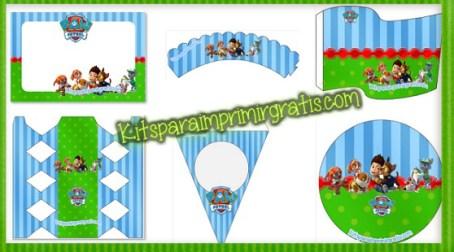 paw-patrol-kits-para-imprimir-gratis - Decoracion de Paw Patrol - Imprimibles Paw Patrol - Wrappers Paw Patrol - Banderines de Paw Patrol - Stickers de Paw Patrol - toppers de Paw Patrol - etiquetas de Paw Patrol - cajitas box Paw Patrol para descargar y armar - marcos de Paw Patrol - invitaciones de cumpleaños paw patrol - tarjetas de paw patrol