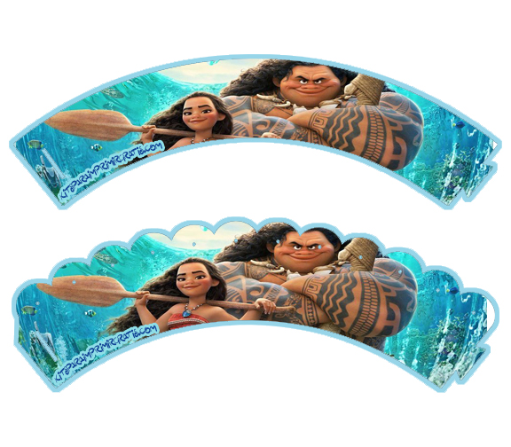 Wrappers Moana