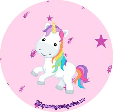10 Round Unicorn Cake