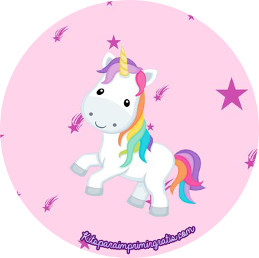 Kit Imprimible De Unicornios Para Descargar Gratis Kits
