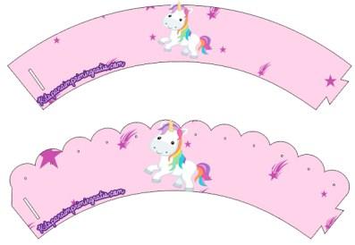 Kits imprimibles unicornios