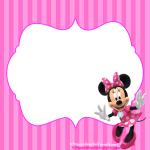 Kit de Minnie para Imprimir Gratis