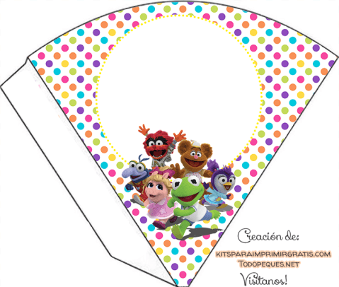 decoracion muppets babies adornos