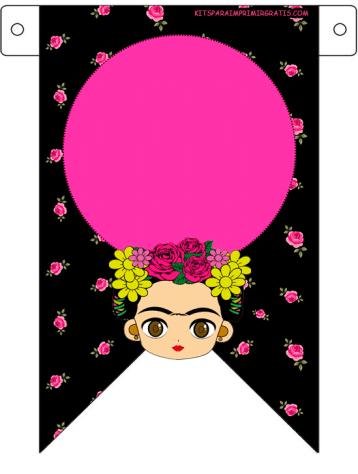 Banderines-Frida-Kahlo-Decoracion-para-imprimir---frida-kahlo-printables-free