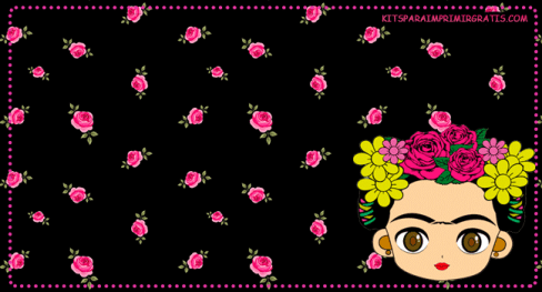 Candy-bar-gratis-Frida-Kahlo---Imprimibles-Frida-Kahlo-para-descargar-gratis