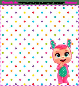 Candy bar gratis bebes llorones