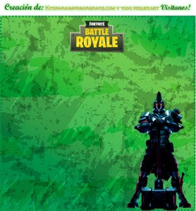 Kits Imprimibles Fortnite x temporada 10 descarga gratis