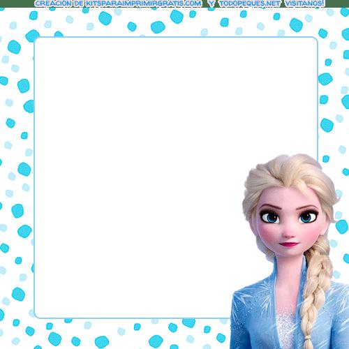 Marcos de Frozen 2 Elsa