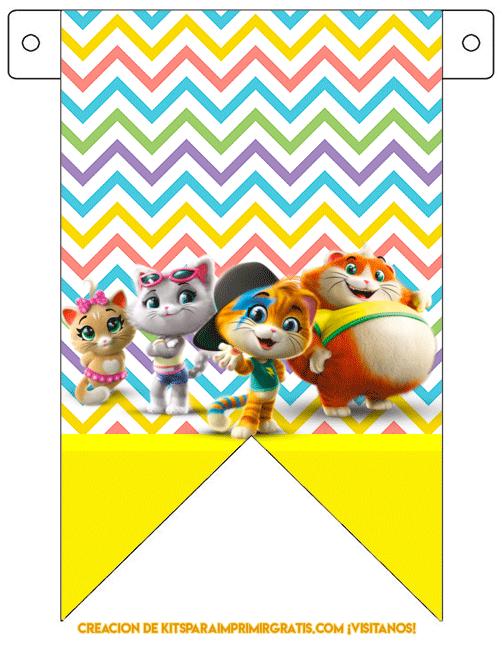 44 Cats Banner