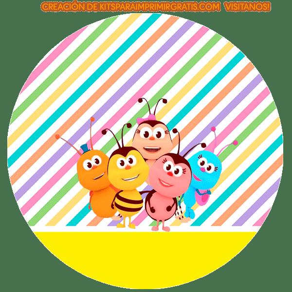 Stickers Bichikids etiquetas