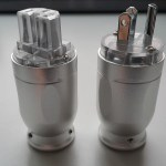 MA Audio Copper Rhodium Plated US AC Power Plug