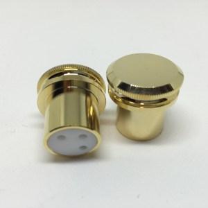 Gold XLR Dust Cap F