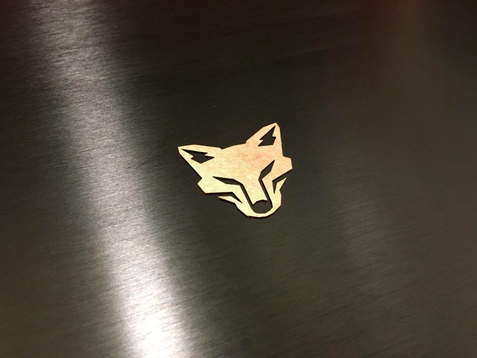 Kitsune Tuned Edition Copper Badge