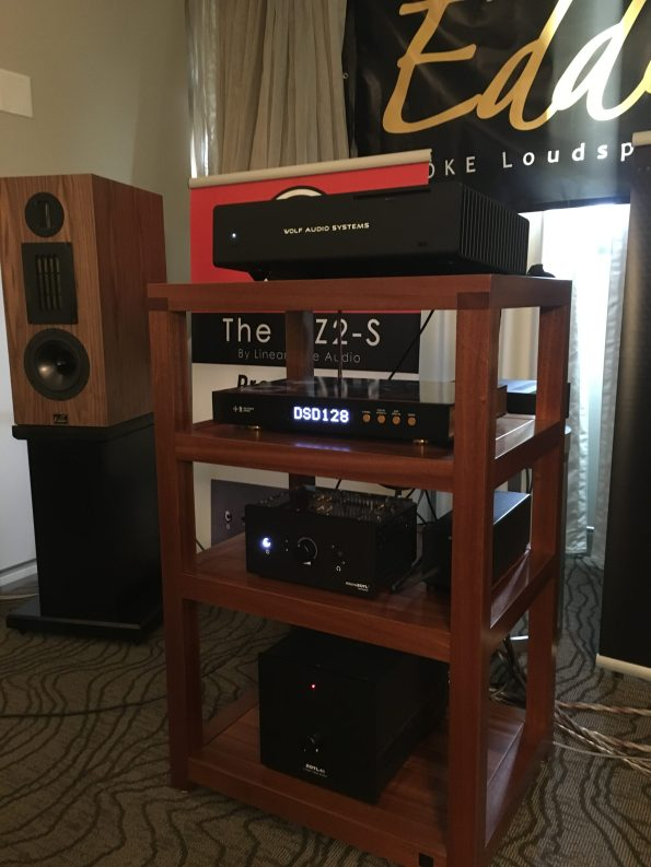 Thank you LTA, Wolf Audio and Audience - our dac had a chance to be in one of the rooms