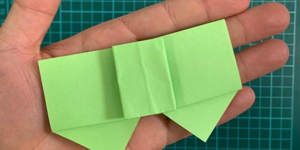 折り紙:リボンの折り方(メッセージカードやお手紙にも)