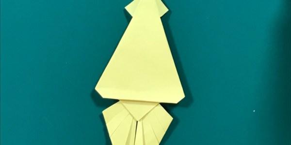 折り紙:イカの折り方