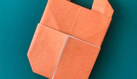 折り紙:クワガタの折り方