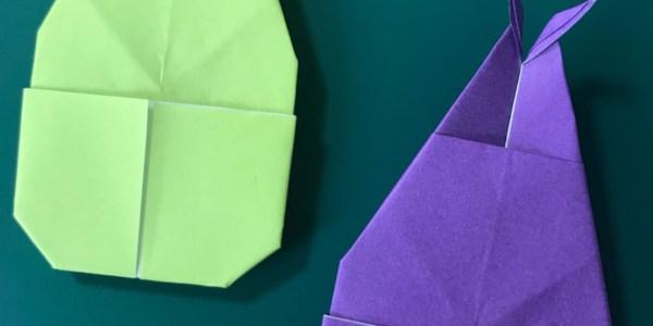 折り紙:かぶとむしの折り方