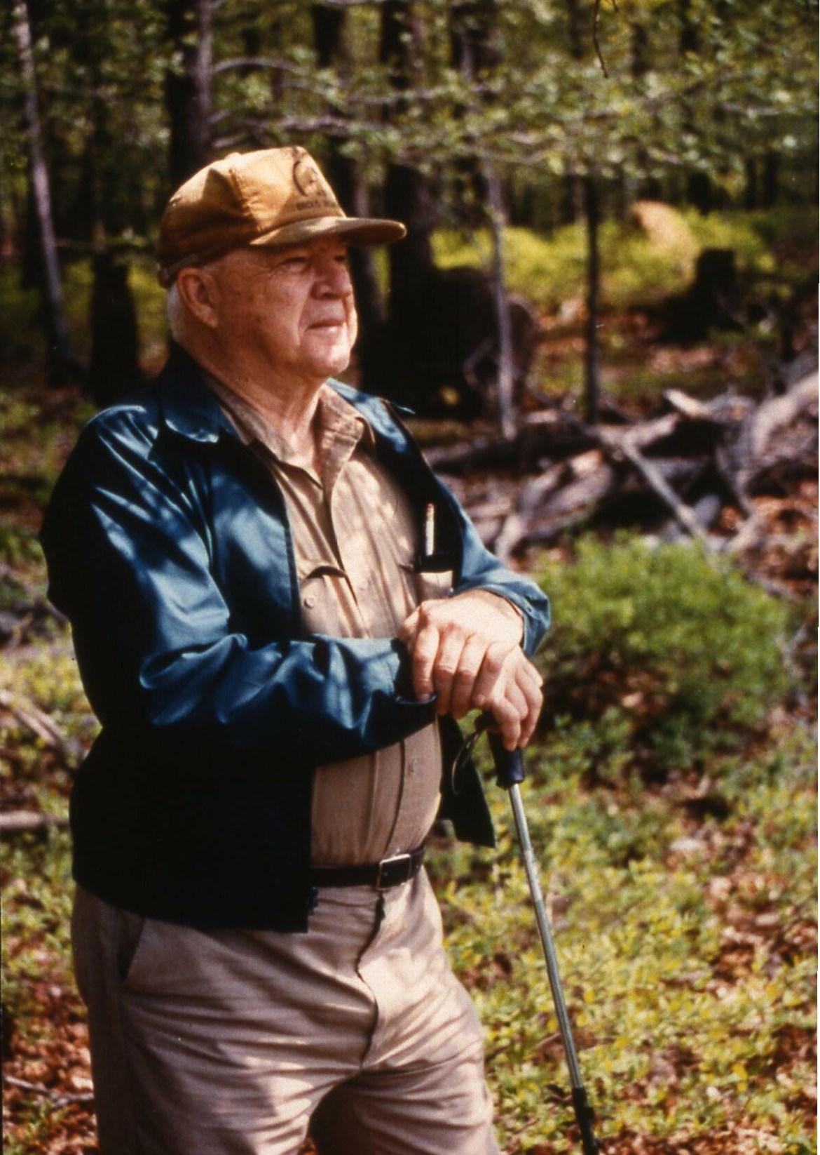 Charlie Nehf - hat and walking stick