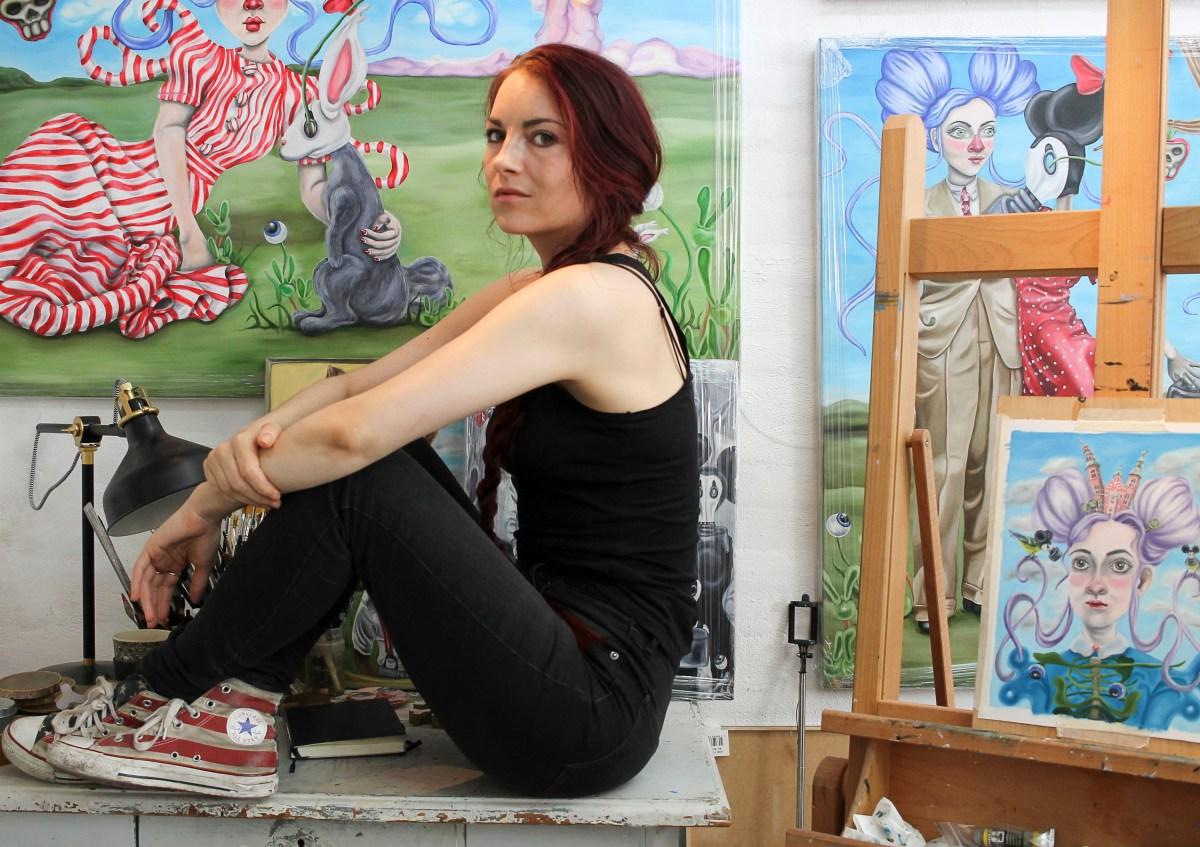 Kitt Buch; billedkunstner