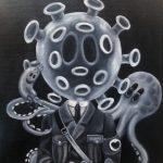 corona, billedkunst, popsurrealisme, samtidskunst