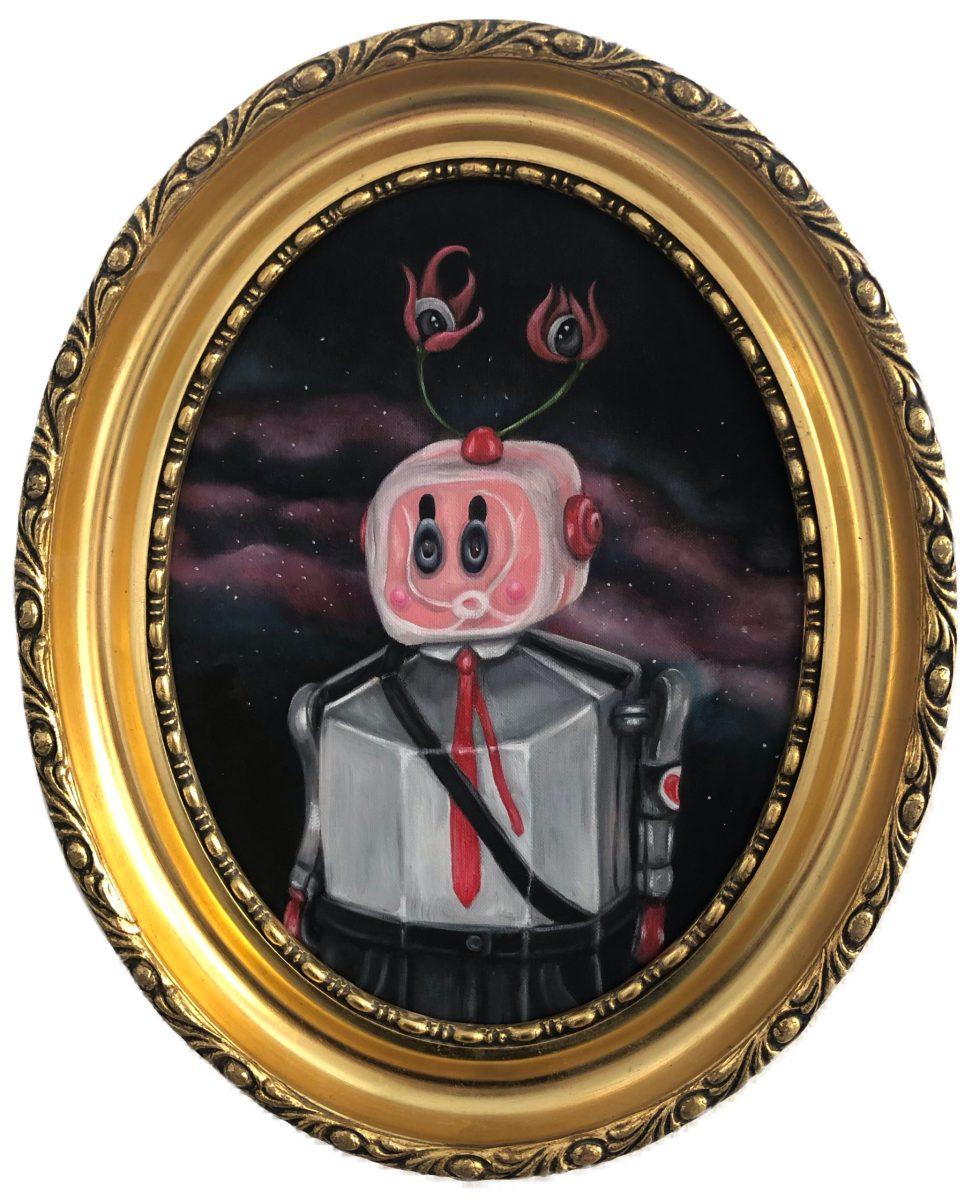 billedkunst kibu billedkunst lowbrow popsurrealist Kitt Buch