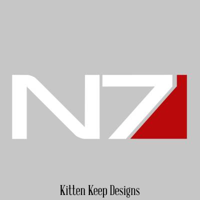 Mass Effect N7 Vinyl Decal