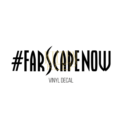 #FarscapeNow Vinyl Decal