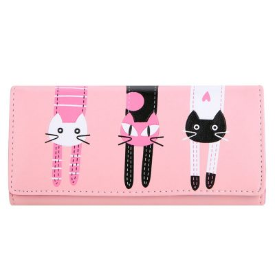 Cat Cartoon Creative Ladies' Wallet