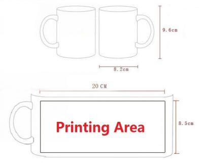 Custom Magic Mug / Personalized Color Changing Mug