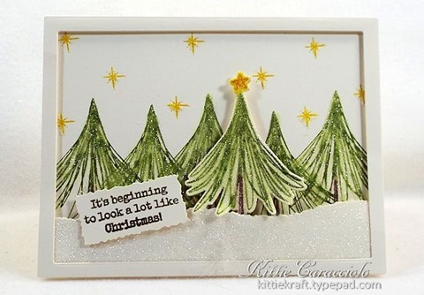 KC Essentials By Ellen Christmas Scribbles 1 center