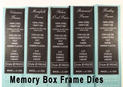 Memory Box Frames