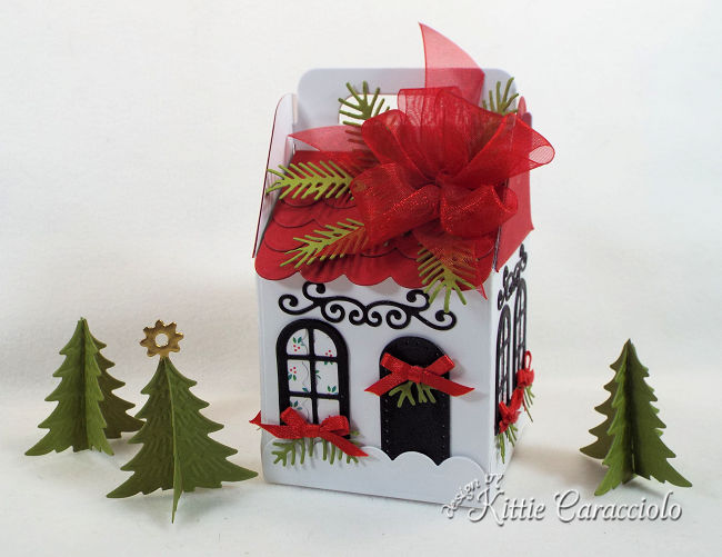 Come see how I made this cute house for my Charming Cottage Box village.