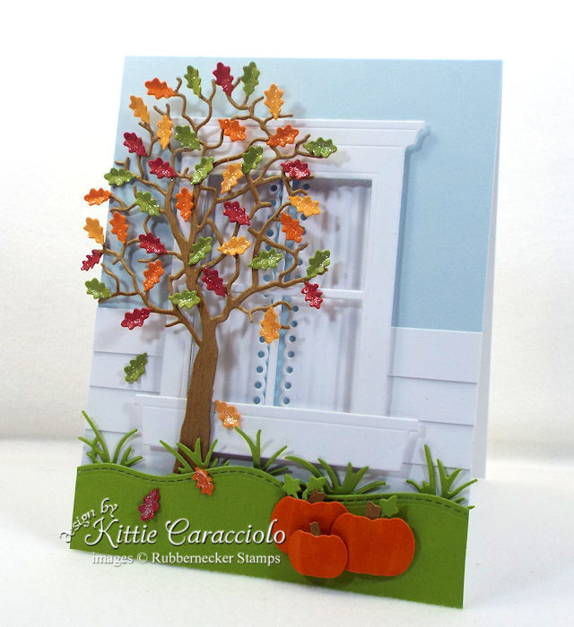 Rubbernecker Stamps Blog Come-see-how-I-made-this-die-cut-fall-tree-and-window-card.