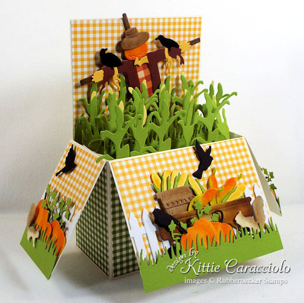 Come see my colorful fall pop up box card ideas.