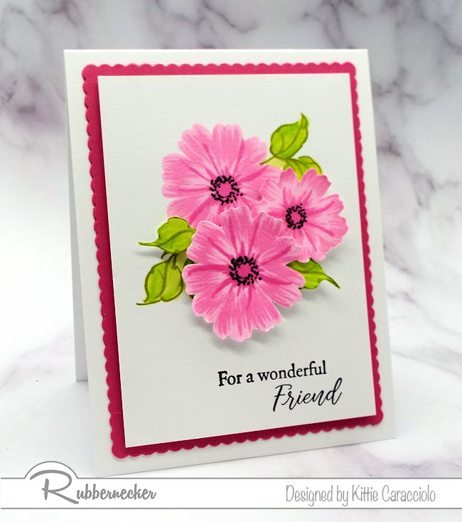 Check out how I made this beautiful floral project made using the newRubbernecker Color Fuse inks.