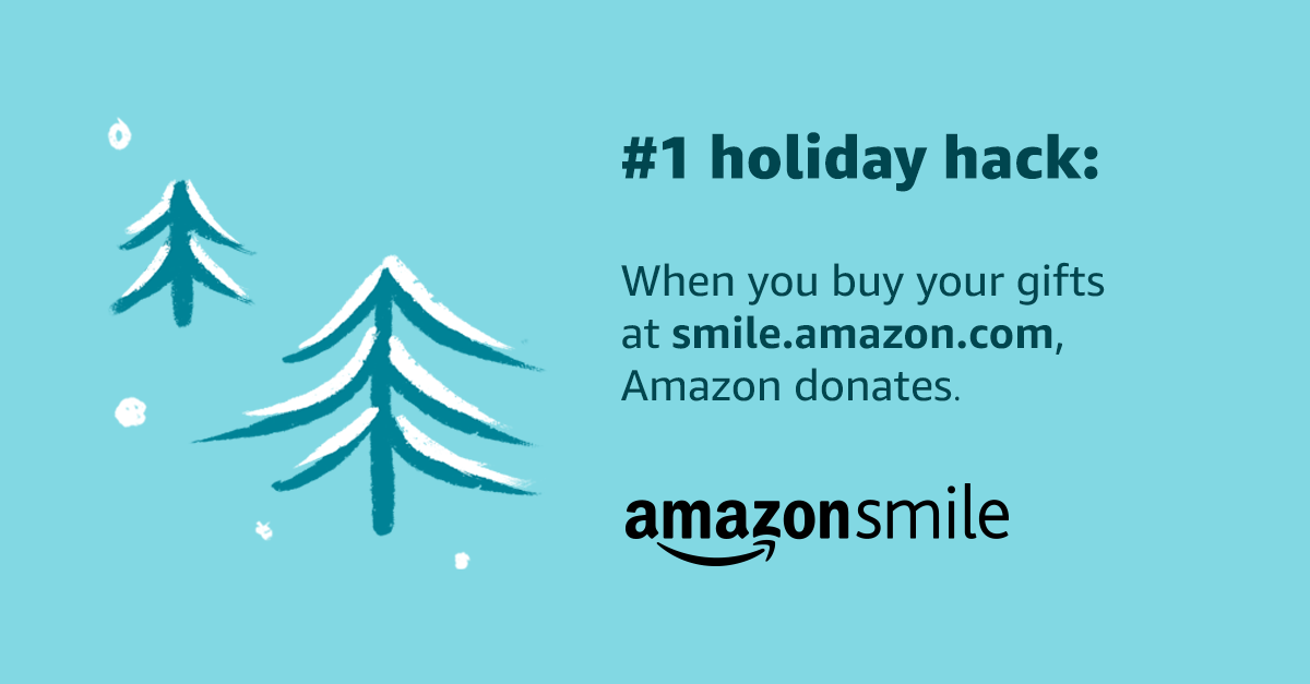 Donate now! Amazon Smile