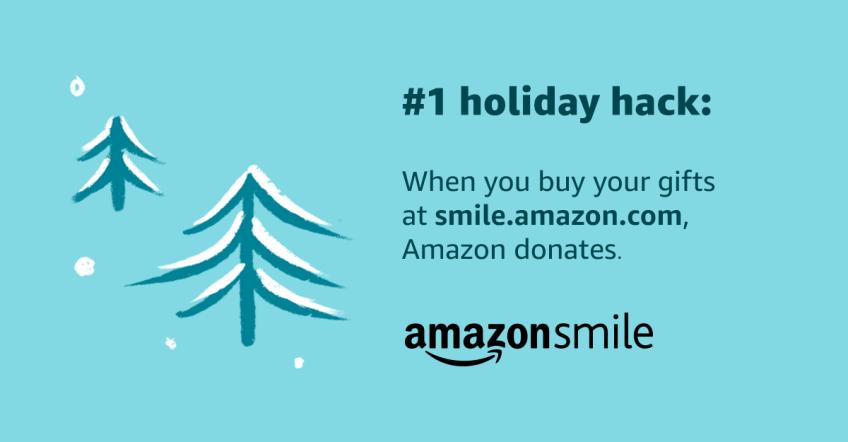 Donate now! Amazon Smile