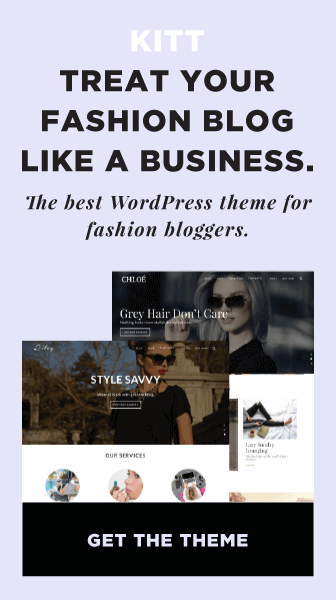 Kitt Fashion Blog Wordpress Theme