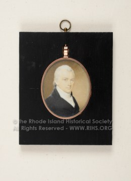 Carl F. Herreshoff. miniature by Edward Malbone ca. 1800. RIHS 1972.21.1, Gift of Norman Herreshoff