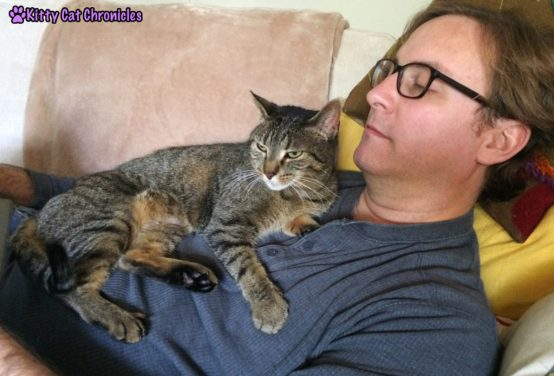 Sassy Snuggles with Dad