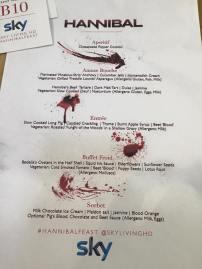The divine menu