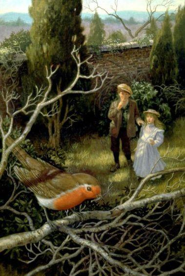 secret garden illustration