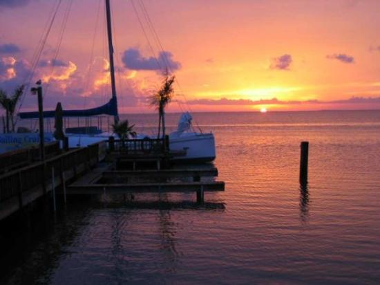 Padre island sunset